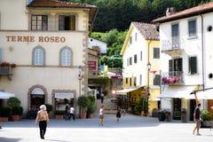 Bagno di Romagna,伊米莉亚罗马甘,意大利 图库摄影