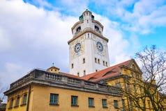 Bagno e piscina pubblici famosi a Monaco di Baviera fotografie stock
