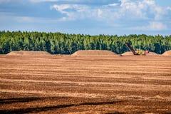 bagno i pole na którym niesie out w blac produkcja Obrazy Stock