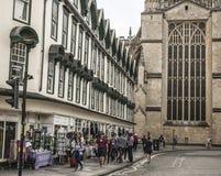 Bagno, Inghilterra, Europa - una via Immagini Stock