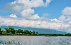 Bagno krajobrazowa góra Zdjęcia Royalty Free