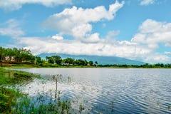Bagno krajobrazowa góra Obrazy Stock