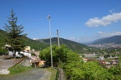 Bagno med l beckground abruzzo Italien för `-aquila dal Fotografering för Bildbyråer