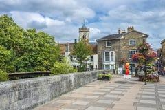 Bagno medievale della città, Somerset, Inghilterra fotografia stock libera da diritti