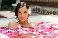 Bagno tropicale Fotografia Stock Libera da Diritti