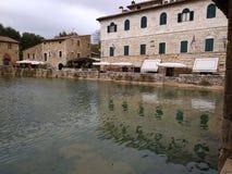 Bagno Vignoni lizenzfreies stockfoto