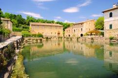 Bagno Vignoni Stock Image