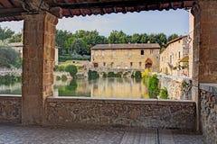 Bagno Vignoni Royalty Free Stock Photos