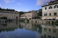 Bagno Vignoni στοκ εικόνα