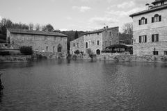 Bagno Vignoni Photos stock