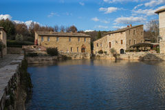 Bagno Vignoni Royalty Free Stock Photography