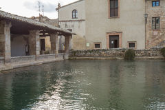 Bagno Vignoni Stock Photography