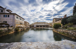 Bagno Vignoni,Italy Royalty Free Stock Photography