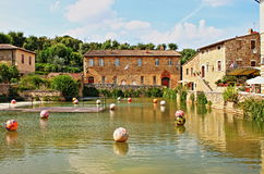 Bagno Vignoni Stock Photos