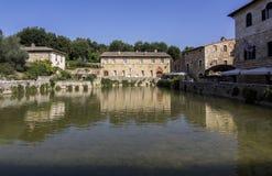 Bagno Vignoni royalty free stock photography