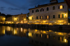 Bagno Vignoni Royalty Free Stock Photos