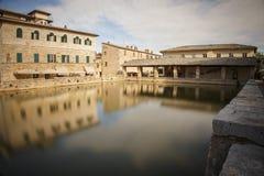 Bagno Vignoni, Toscana, Italia Fotografia Stock Libera da Diritti