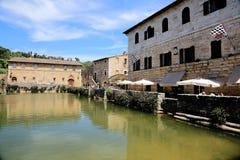 Bagno Vignoni Tuscany Stock Photography