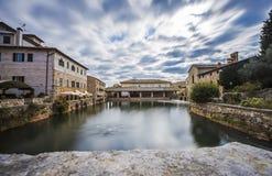 Bagno Vignoni, Włochy Fotografia Royalty Free