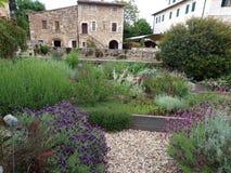 Bagno Vignoni w Tuscany. Obraz Royalty Free