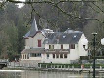Bagnoles de洛恩诺曼底法国欧洲 免版税库存照片