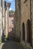Bagnone, старая деревня в Lunigiana Стоковые Фото