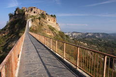 Bagnoregio Royalty Free Stock Photos
