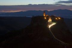 bagnoregio civita di Italy Zdjęcie Royalty Free