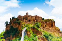 Bagnoregio Royalty Free Stock Images
