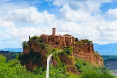 Bagnoregio Royalty Free Stock Photography