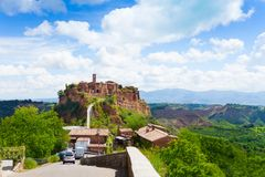 Bagnoregio Stock Photo