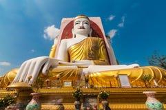 Bago, Myanmar 22 Φεβρουαρίου 2014: kyikepun, παγόδα τεσσάρων προσώπων Στοκ Εικόνες