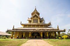 BAGO-MYANMAR-DECEMBER 27: Kambawza Thardi pałac na Grudniu 27, 2015 w Bago, Myanmar Fotografia Stock