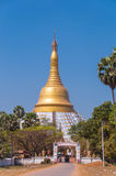 Bago, Myanmar - February 21,2014: Mahazedi pagoda Royalty Free Stock Images