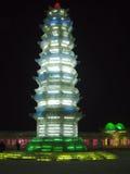 Bagoda del hielo Foto de archivo libre de regalías