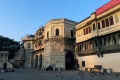 Bagore Ki Haveli, Udaipur, Rajasthan Arkivbild