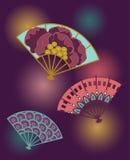 Bagout de festival avec des fans Illustration de Vecteur