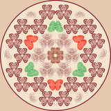 Bagout multicolore abstrait Photos stock