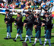 Bagpipe Band Royalty Free Stock Photos