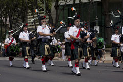 Bagpipe band Stock Photos