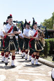 Bagpipe Band Royalty Free Stock Photography