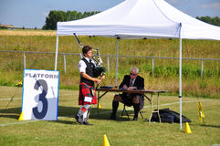 Bagpipe competition Royalty Free Stock Image