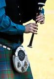 Bagpipe escocês Fotos de Stock