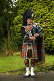 Bagpipe player Royalty Free Stock Photography