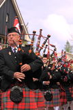 Bagpipe players Stock Photos