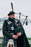 The Bagpiper Stock Photos