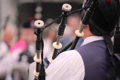 Bagpiper Royalty Free Stock Image