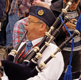 Bagpiper Stock Photography