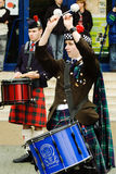 Bagpipers Royalty-vrije Stock Afbeelding