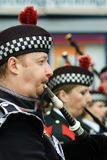 Bagpipers Stock Image
